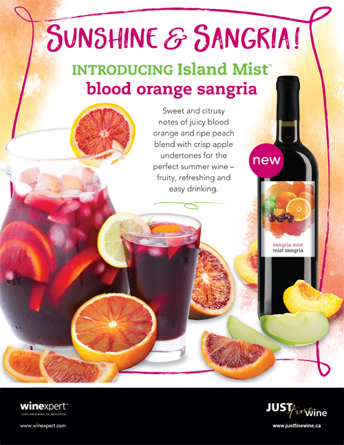 New Island Mist Blood Orange Sangria