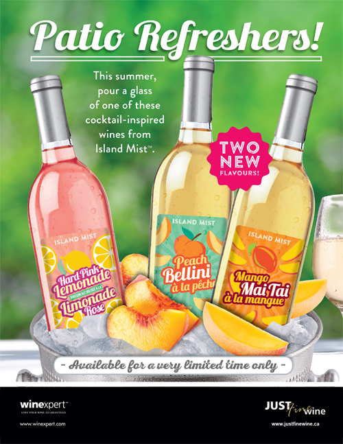 Refresh Your Patio With Island Mist