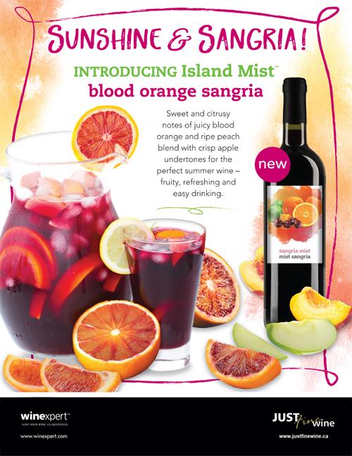New Island Mist Blood Orange Sangria