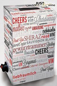 Wine Box - 4L Cardboard