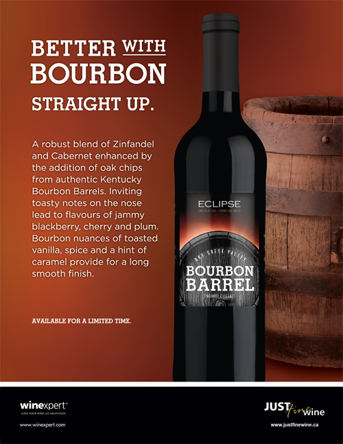 Better With Bourbon Straight Up Just Fine Wine